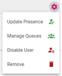 Manage users