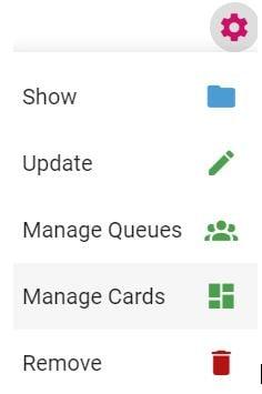 Managecards